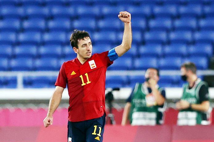 Oyarzabal zette Spanje verdiend op gelijke hoogte.