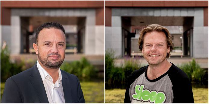 Bredanaars Faissal Boulakjar (D66) en Daan de Neef (VVD) zitten 100 dagen in de Tweede Kamer.