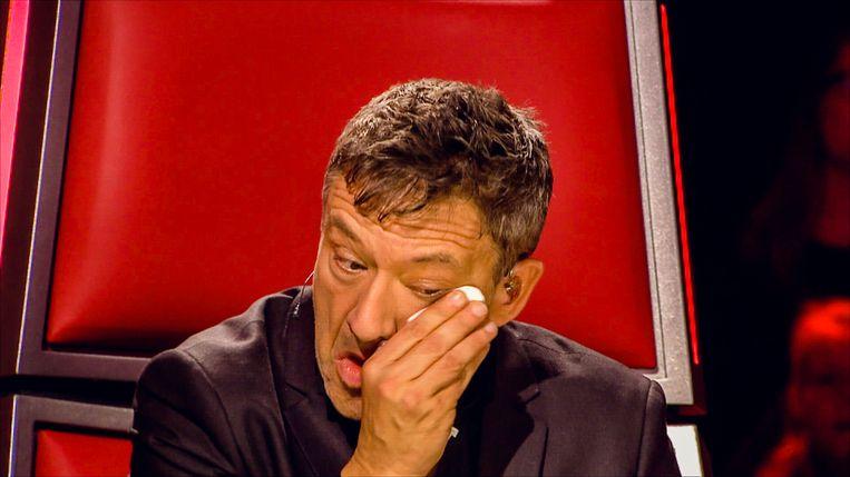 Bart Peeters. Beeld The Voice Van Vlaanderen