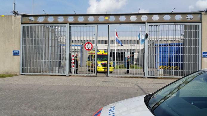 De gevangenis in Zoetermeer.