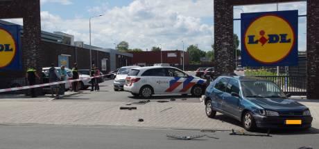 Inrijden op agenten en vrouw bij supermarkt in Kaatsheuvel: 30 maanden cel
