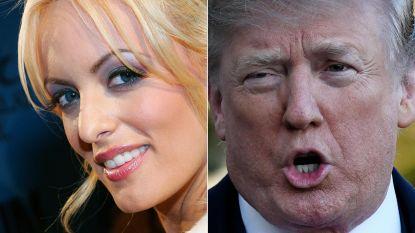 """Donald Trump noemt Stormy Daniels """"paardensmoel"""""""