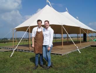 """Lukas en Fien laten je dineren tussen de koeien op de Gitsberg: """"Pop-uprestaurant is al lang een droom van ons"""""""