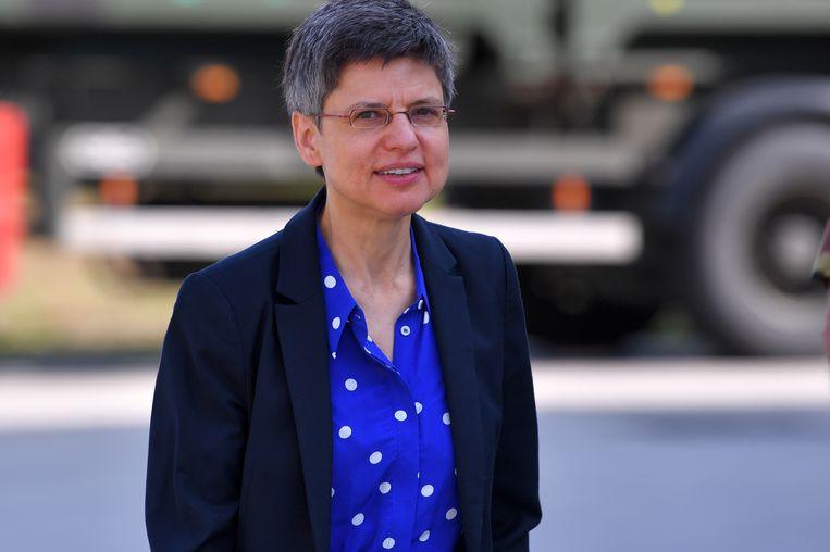 Antwerps gouverneur Cathy Berx. Beeld Belga