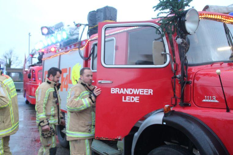 Brandweerpost Lede stuurde eveneens een delegatie voor Fire For Life.