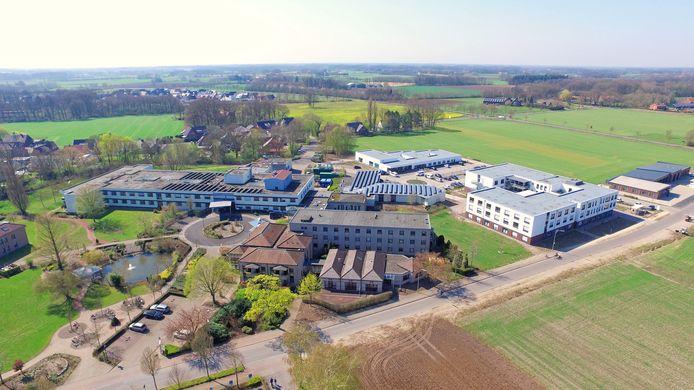 In het ziekenhuis in Vreden zijn patiënten en personeelsleden besmet met het coronavirus.