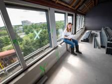 Disco, schuilkelder, kantoor: wonen in een pand met veel gezichten in Apeldoorn