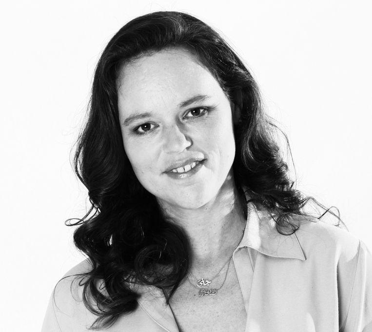 Dorien Ballout is bestuurslid van de stichting Diensten en Onderzoek Centrum Palestina die de boycot, desinvesteren en sancties tegen Israël coördineert.  Beeld -