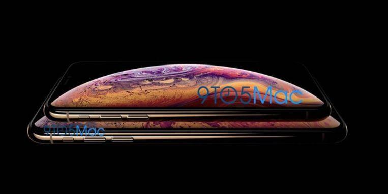 De nieuwe iPhone XS-modellen Beeld 9to5Mac