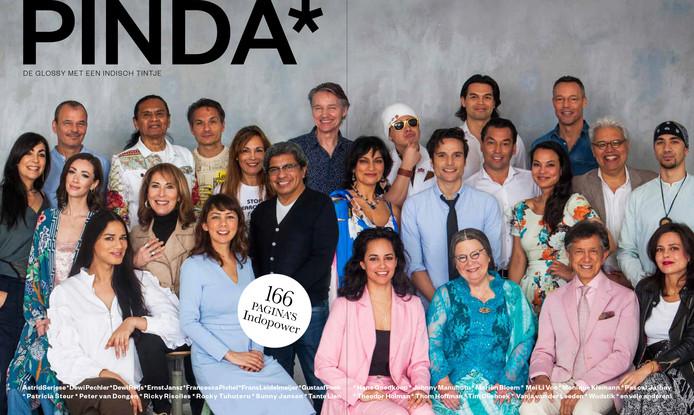 19 september 2019 verscheen PINDA* de glossy met een Indisch tintje.