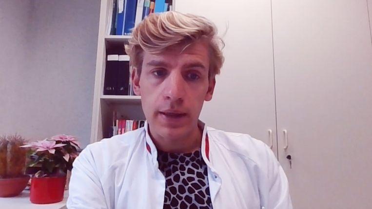 Michaël Sels, hoofddiëtist van het UZA. Beeld rv