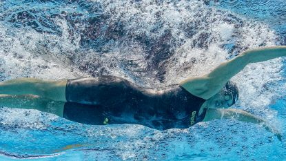 """Lecluyse stelt Belgisch record op 100m school 2x op een dag scherper """"Victor is supertrots op mij"""""""