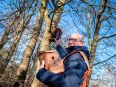 Vogelkastjes in bomen om eikenprocessierups tegen te gaan