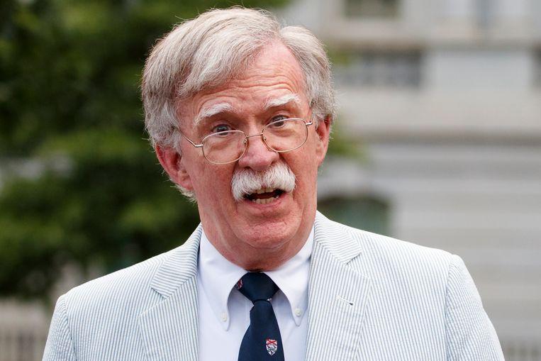 Voormalig nationaal veiligheidsadviseur John Bolton. Beeld AP