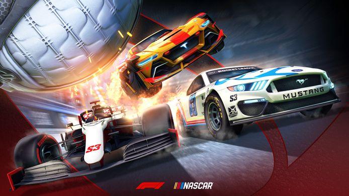 Spelers van het populaire balspel Rocket League kunnen vanaf mei in een Ford Mustang racen.