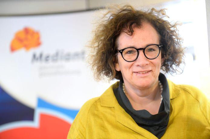 Bestuurder Geert Uijterwaal van de ggz-instelling Mediant in Enschede.