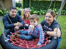 Hardlopen en skeeleren voor een nieuw speeltoestel voor Villa ExpertCare