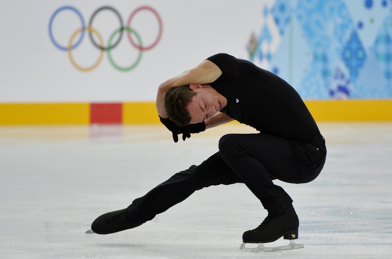 Le patineur artistique Jorik Hendrickx
