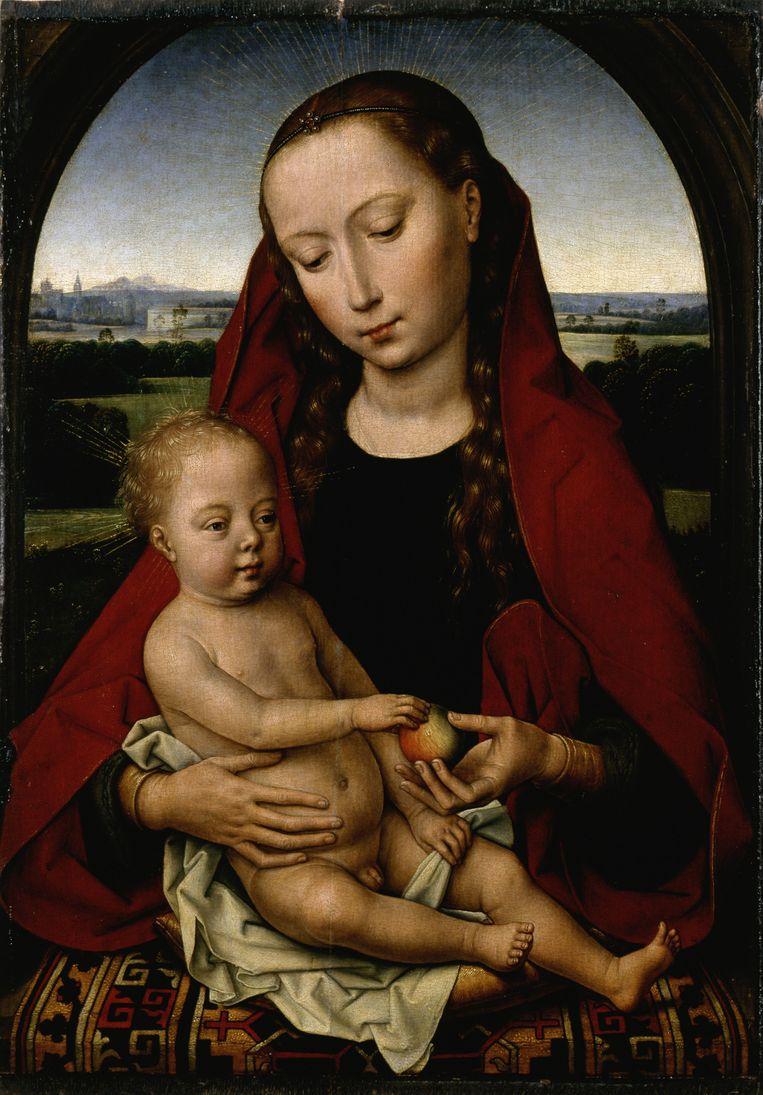 Hans Memling: Maria en Kind, 1485 Beeld null