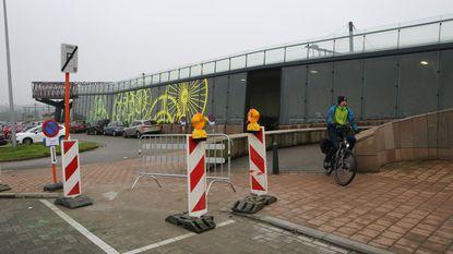 Eindelijk oprit voor fietsbrug aan station