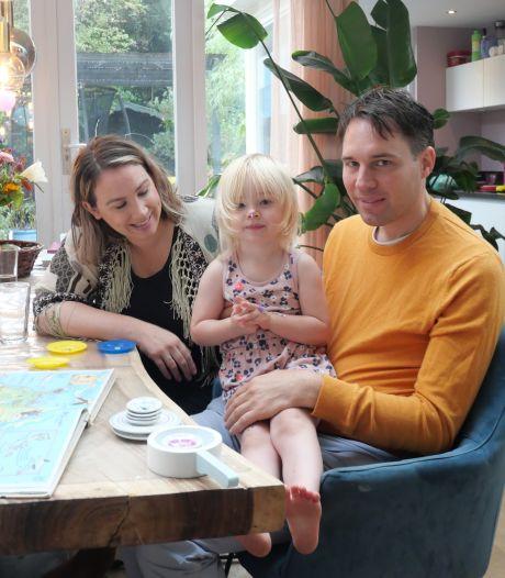 Pippa (3) uit Zwolle begrijpt alles, maar kan moeilijk reageren: 'Heel frustrerend'