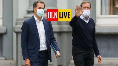 """LIVE. Formateurs om 18 uur naar de koning. Politicoloog Dave Sinardet: """"Nieuwe regering tegen donderdag niet onhaalbaar"""""""