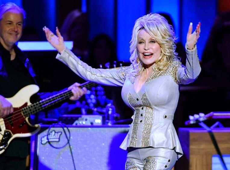 Het uiterlijk van Dolly Parton zegt niet alles. Beeld Netflix