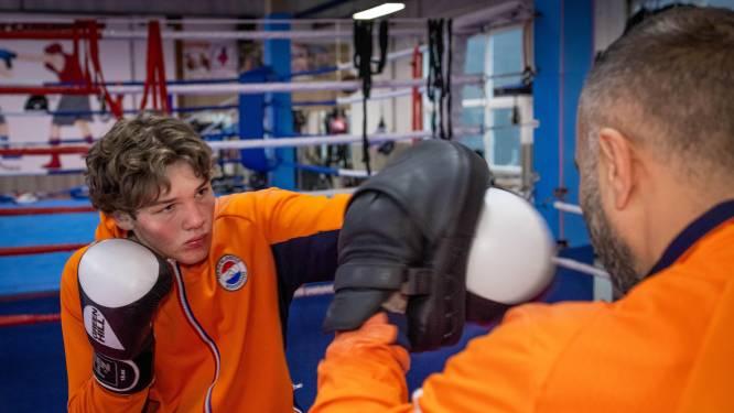 Bokser Corrie (17), aanstaand rechtenstudent in de ring: '2024 Parijs, dan wil ik erbij zijn'