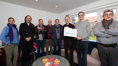 Vzw Sint-Pieter krijgt opbrengst cultuurquiz