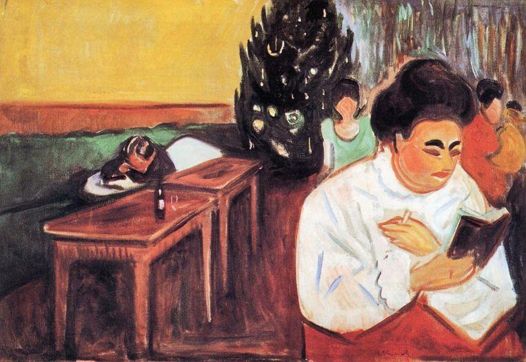 Edvard Munch, 'Kerst in het bordeel'. Beeld Alamy Stock Photo