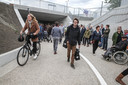 Opening fietserstunnel Dampoort.