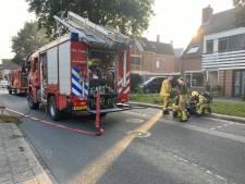Gewonde bij brand in flatwoning Putten