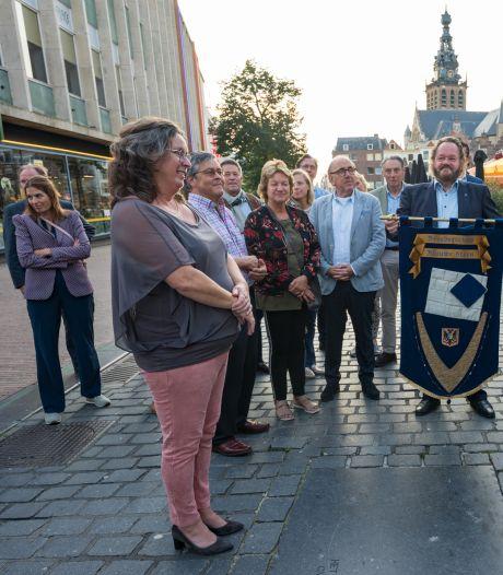 Teddy Vrijmoet onderscheiden met 'Blauwe Steen'
