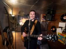 Jonge Damian wil wereld veroveren met eigen rock-'n-rollplaatje