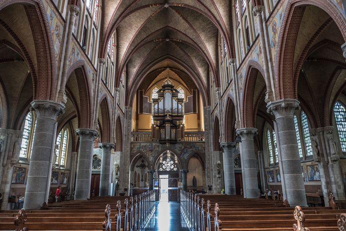 De Martinuskerk van Cuijk.