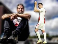 Feyenoorder Raemon Sluiter keek met weemoed naar 'ex-vriendin' Steven Berghuis
