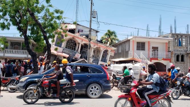 Ruim 700 doden en meer dan 2.800 gewonden in Haïti na aardbeving met kracht van 7,2