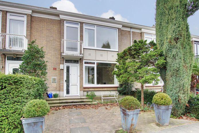Het rijhuis van 1.450.000 euro in de Prinses Irene-buurt in Amsterdam-Zuid.