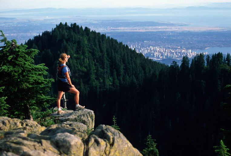Grouse Mountain. Beeld getty images