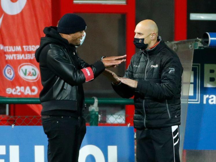 """Kompany ging heftig te keer bij penalty: """"Nadien geëxcuseerd, maar in Engeland krijgen spelers voor zo'n duel applaus"""""""