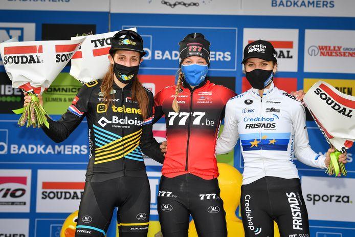 Lucinda Brand, Annemarie Worst en Yara Kastelijn.