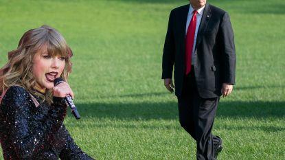 """Taylor Swift steunt openlijk Democraten, Trump reageert: """"Ik hou nu 25% minder van haar muziek"""""""