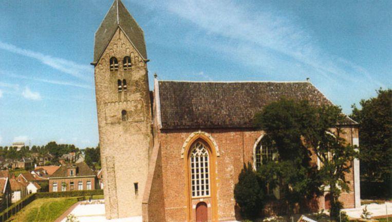 De scheve toren van Bedum. Beeld Privéfoto