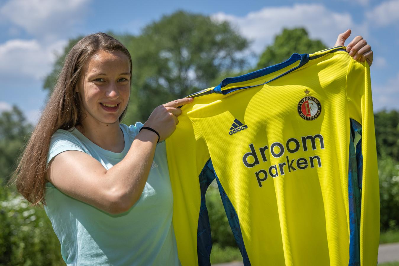 Esmee Happel gaat van Feijenoord naar Eldenia als doelverdedigster.
