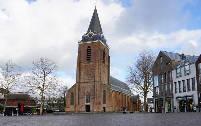De Woerdense binnenstad maakt kans op de titel Beste Binnenstad 2020.