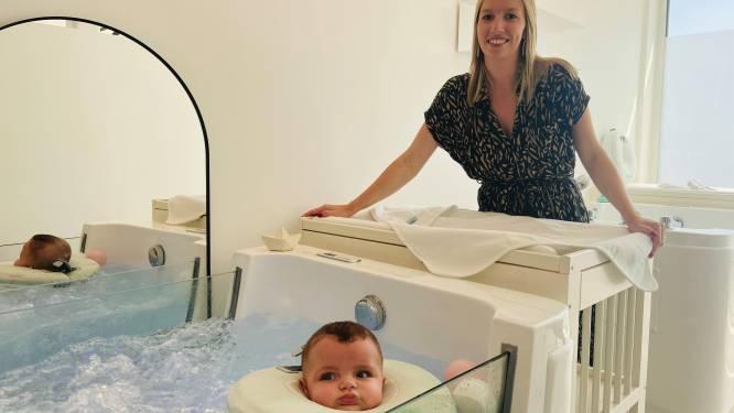 """UITGETEST. Met dochterlief naar Baby Wellness Brugge, een zaak die na twee jaar al fors uitbreidt: """"We willen ouders én hun kindje een unieke ervaring aanbieden"""""""