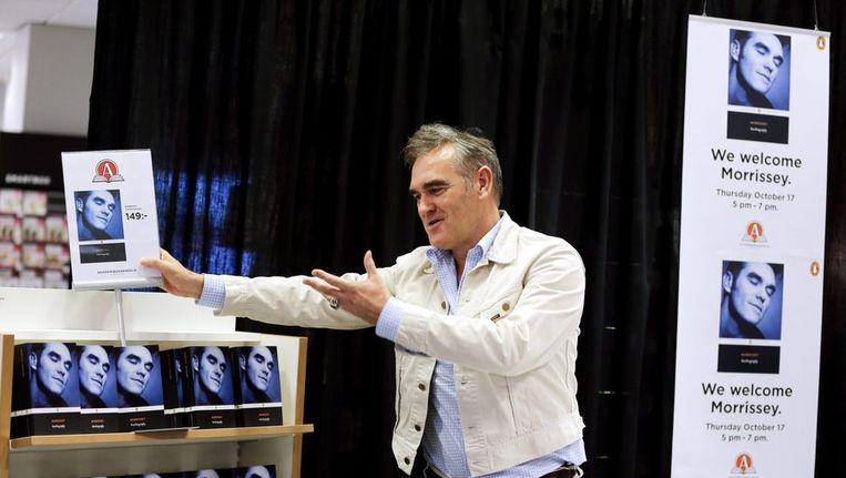 Morrissey blijkt lang niet de eerste popster die lyrics voor literatuur inruilt. Beeld REUTERS