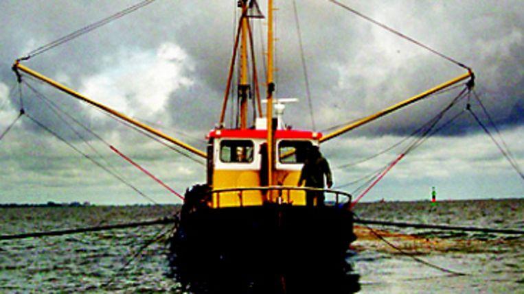 Vissersboot (Koos Dijksterhuis) Beeld