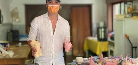 Gentse studenten verkopen kaarsen in unieke vormen: van schedels tot penissen