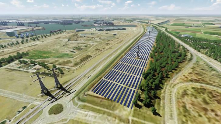 Dit wordt het grootste zonnepark van Nederland... en het komt in Vlissingen